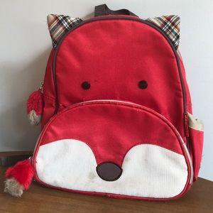 Skip hop red fox toddler back pack